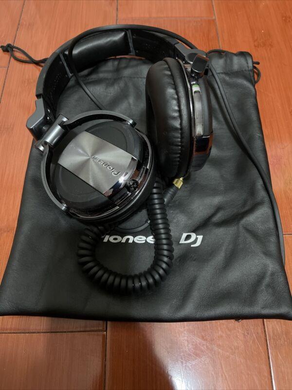 Pioneer HDJ-1500 Headband Headphones - Black/Chrome