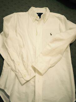 Polo Ralph Lauren size 7 boys cotton shirt Jerrabomberra Queanbeyan Area Preview