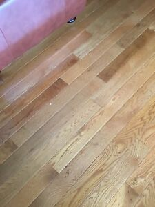 4 boxes hardwood flooring