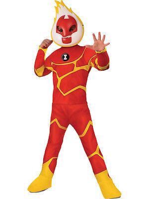 Ben 10 - Heatblast Alien Deluxe Child Costume