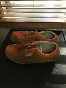 Brown-and-orange Helly Hansen shoes ( price firm )