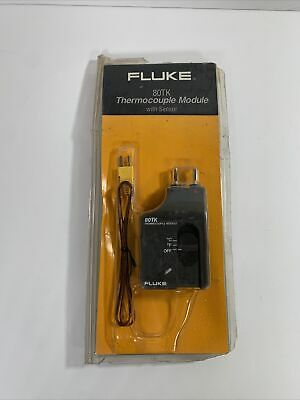 Fluke Thermocouple Module With Sensor 80tk