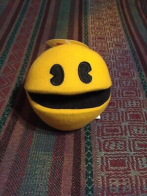 Pac-Man Namco Bandai Plush STUFFED ANIMAL Toy -NEW- Awesome Collector's Item!