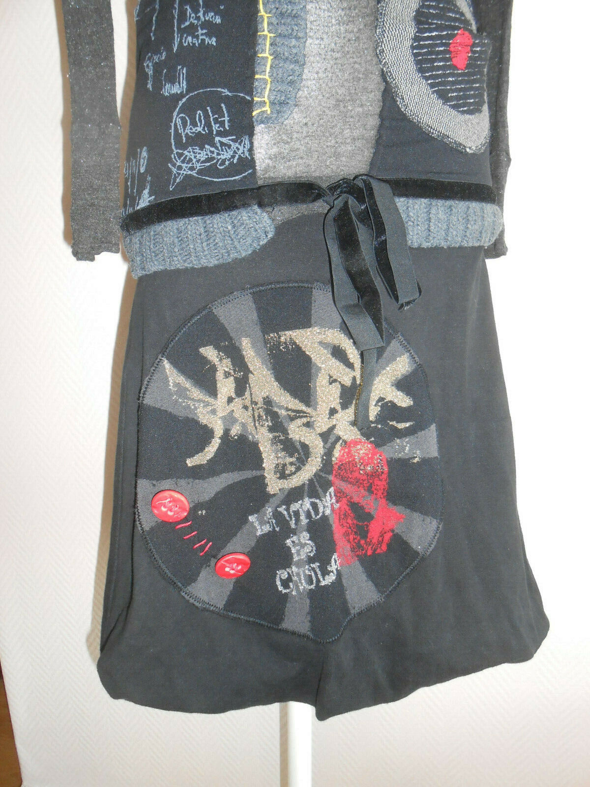 Robe pull boule desigual taille s ou 36