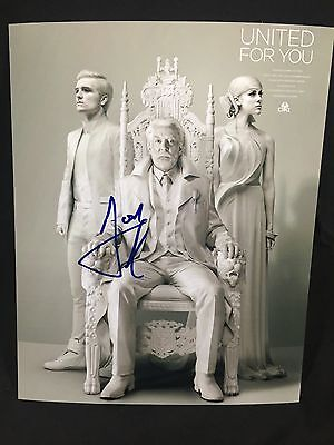 Josh Hutcherson Signed Autographed 8X10 Photo The Hunger Games Movies Coa Wow