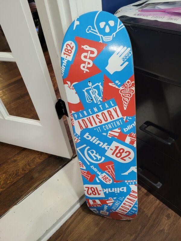 blink 182 Skateboard deck Mark Hoppus Travis Barker Tom DeLonge Matt Skiba