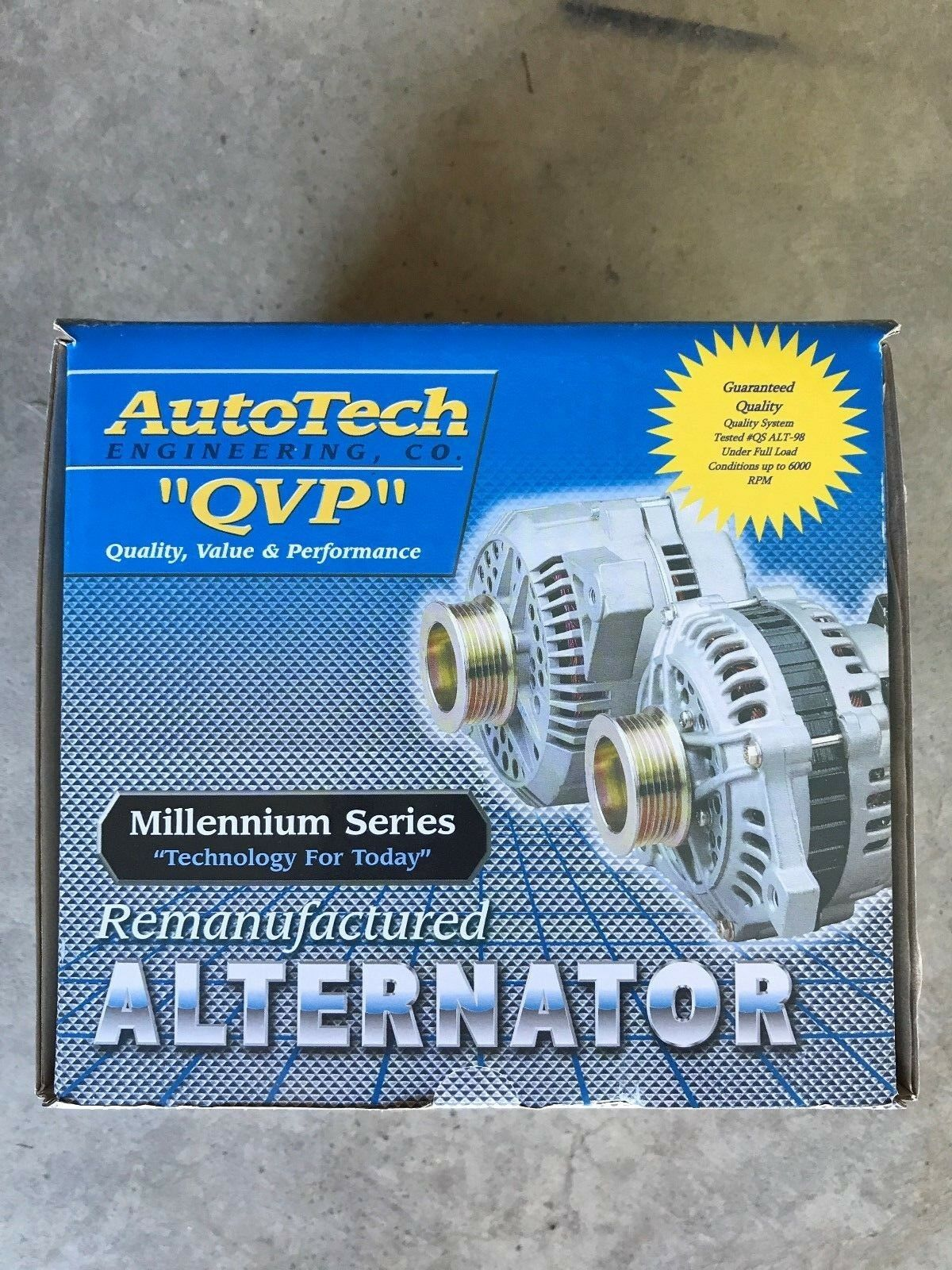 Autotech Re-manufactured Alternator Millennium Series 7861-7 4