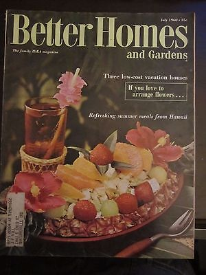 Better Homes & Garden Magazine May 1965 Flowers to Plant Now Summer Color