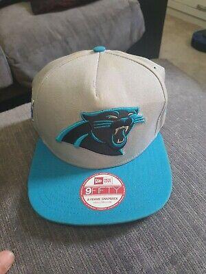 New Era Carolina Panthers Snapback