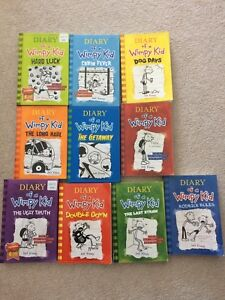 Diary of a wimpy kids books.