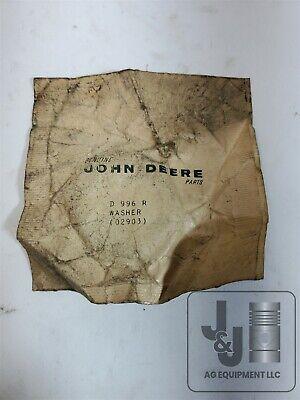 Genuine John Deere Washer D996r 50 60 520 530 620 630 A Ao Ar B D Tractor
