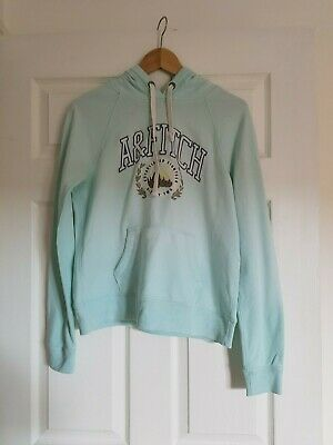 abercrombie and fitch Woman hoodie sweatshirt size M mint green colour