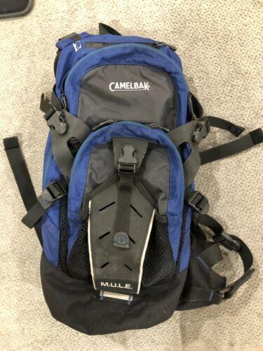 Camelbak M.U.L.E. Hydration Pack (pack only) Blue/Navy/Gray