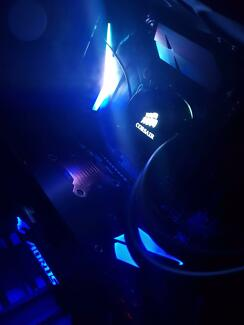 GTX 1080ti Ultra Gaming PC With water cooled i7 7700k