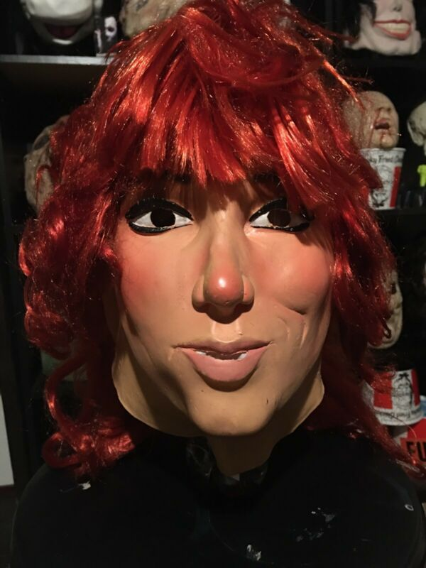 Rare Vintage 1987 West Germany Peggy Bundy Halloween Mask (Made In West Germany)