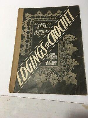 Винтажные VTG ORIGINAL Adeline Cordet 1916