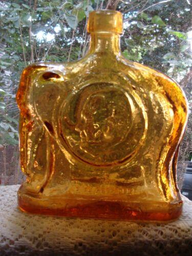 Wheaton Bottle Elephant Nixon / Agnew Republican *