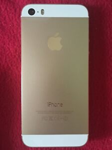 IPhone 5s gold and white Unlocked