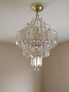 Chandelier and Lights for sale