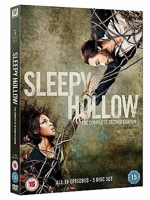 Sleepy Hollow Complete Series 2 DVD All Episode Second Season Original UK NEW R2 - Halloween Episodes Tv Shows