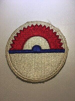 Us-armee Basis (Original WWII US Armee Labrador & N.E.Kanada Basis Kommando Aufnäher No Glow)
