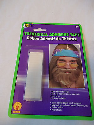 Tape Double Faced Theatrical Adhesive for Beards, Noses  Peel and Stick ](Peeling Face Halloween)