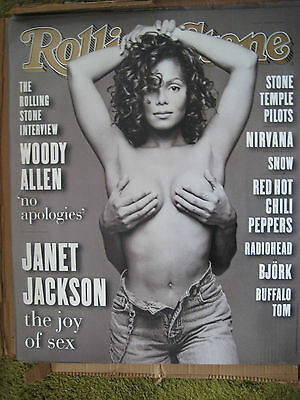 Janet Jackson Sept 16  1993 Rolling Stone Magazine Cover Poster