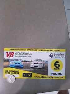 V8 Race experience voucher  (6 laps) Murrumba Downs Pine Rivers Area Preview