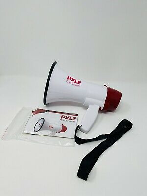 Pyle Megaphone Speaker Pa Bullhorn - With Built-in Siren 30 Watt Voice Record...