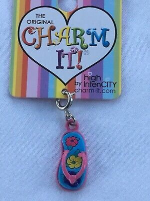 New FLIP FLOP sandal High Intencity charm it! for bracelet / necklace *FREE -