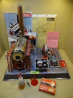 Dampfmaschine Wilesco D24 mit Zubehör / Anfang 60 Jahre / Sehr Selten.