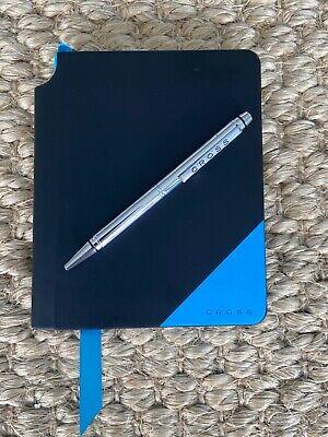 Job Lot 7 Cross Jot Zone Black Blue Small Lined Notebook Journal Pen