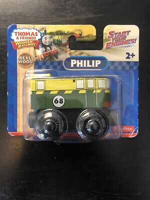 THOMAS & FRIENDS WOODEN RAILWAY - PHILIP DXF18 2015 ~ NEW & HARD TO FIND RARE