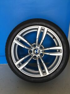"""BMW 18"""" tires and rims"""