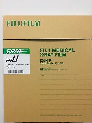 14x17 Hru - Fuji Green Hr-u X-ray Film - Free Shipping
