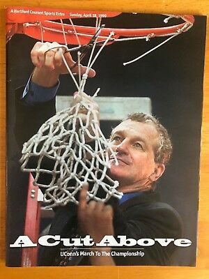 Hartford Courant Sports Extra A Cut Above 1999 UConn Men's NCAA National -