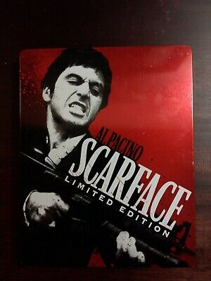 Scarface Limited Edition Al Pacino (Blu-ray Disc, SteelBook No Digital Codes)