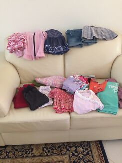Girl size 3 clothing jeans tops skirts jumpers tights dresses