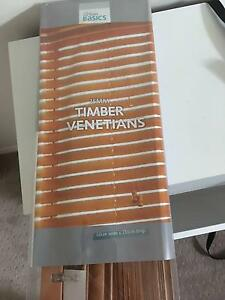 Timber Venetian Blind  New in packaging Buderim Maroochydore Area Preview