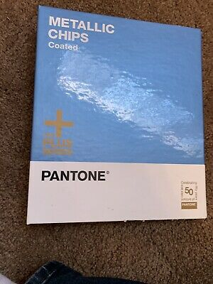New Pantone Metallic Chip Book Gb1507 Coated Reference 301 Color