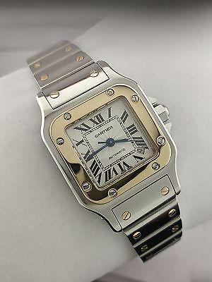 Cartier Santos 2423 Automatic 18K/Steel Watch