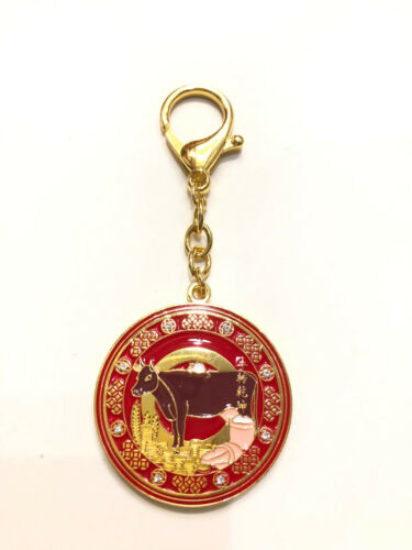 2021 Feng Shui Annual Amulet Keychain