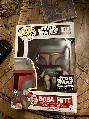 Funko Pop Boba Fett Smugglers Bounty exclusive 102 Star Wars