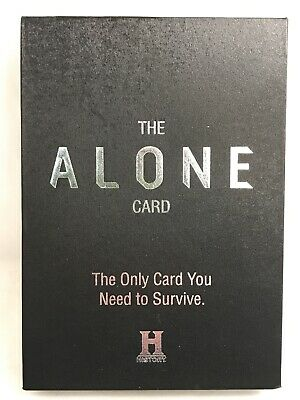 The Alone Card Survive Survival History Channel branded camping prepper gear