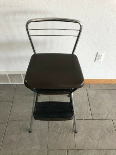 Vintage Cosco step stool & chair