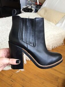 Brand New Real Leather Boots (FOREVER 21) Sz 9