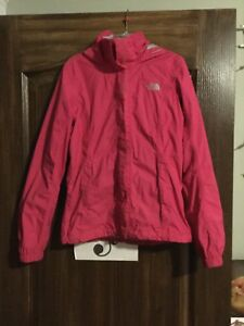 Pink north face jacket - good condition