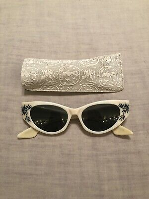 Vintage Ray-Ban B&L Cats Eye Sunglasses Cream White Pearl Retro (Ray Ban Retro Cat Eye Sunglasses)