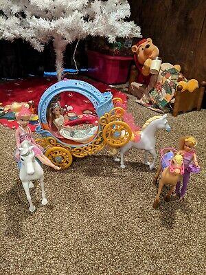 Barbie horse and carriage, horses, Princesses