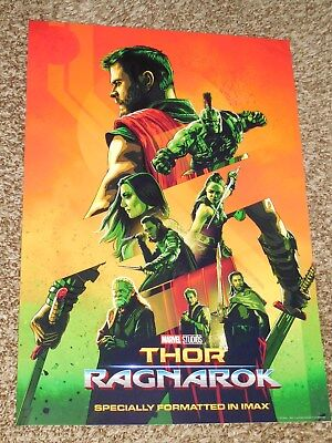 Thor Ragnarok IMAX ex 13x19 Promo Movie POSTER